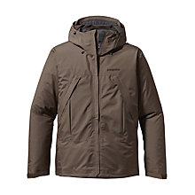 Buy Patagonia Storm Waterproof Jacket, Brown Online at johnlewis.com
