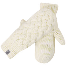 Buy The North Face Cable Knit Mitts Online at johnlewis.com