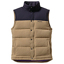 Buy Patagonia Quilted Bivy Down Gilet Online at johnlewis.com