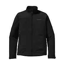 Buy Patagonia Soft Shell Adze Jacket, Black Online at johnlewis.com