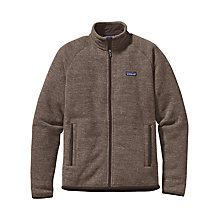 Buy Patagonia Insulated Better Sweater™ Fleece Jacket, Pale Khaki Online at johnlewis.com