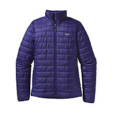 Buy Patagonia Nano Puff Jacket, Blue Butterfly Online at johnlewis.com