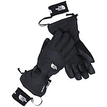 Buy The North Face Etip Facet Gloves, Black Online at johnlewis.com