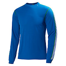 Buy Helly Hansen Dry Stripe Crew Neck Top, Blue Online at johnlewis.com