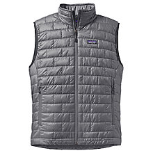 Buy Patagonia Nano Puff Gilet, Forge Grey Online at johnlewis.com
