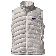 Buy Patagonia Down Windproof Vest, Birch White Online at johnlewis.com