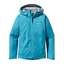 Buy Patagonia Storm Windproof Jacket, Curacao Online at johnlewis.com