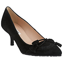 Buy L.K. Bennett Maeve Kitten Heels, Black Online at johnlewis.com