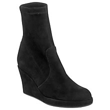 Buy L.K. Bennett Prince Suede Ankle Boot, Black Online at johnlewis.com