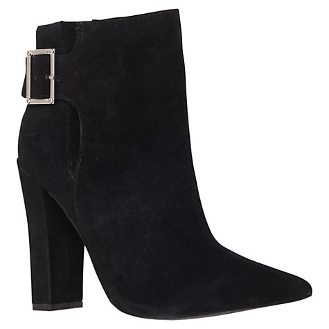 Buy KG by Kurt Geiger Stage Ankle Boots, Black Online at johnlewis.com