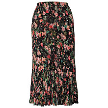 Buy Chesca Garden Skirt, Black/Multi Online at johnlewis.com