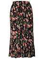 Chesca Garden Skirt, Black/Multi