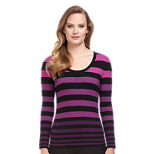Buy Planet Stripe Knit Jumper, Multi Online at johnlewis.com