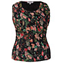 Buy Chesca Garden Camisole, Black/Multi Online at johnlewis.com