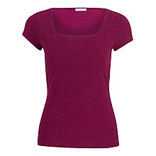 Buy Planet Crinkle Top, Pink Online at johnlewis.com