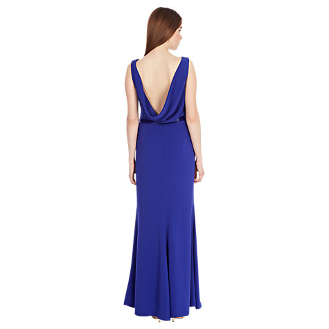 Buy Coast Felix Crepe Maxi, Cobalt Blue Online at johnlewis.com