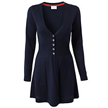 Buy East Merino Button Cardigan, Ivy Online at johnlewis.com