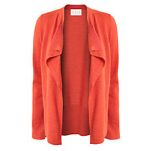 Buy East Drape Merino Cardigan, Mandarin Online at johnlewis.com