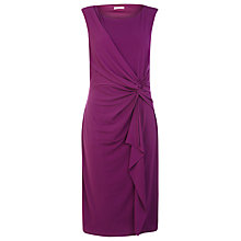 Buy Planet Ruffle Front Jersey Dress, Pink Online at johnlewis.com