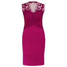 Buy Alexon Lace Ottoman Dress Online at johnlewis.com