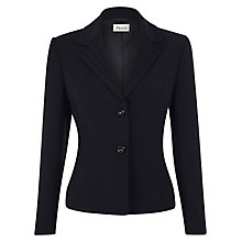 Buy Precis Petite Pintuck Detail Jacket, Black Online at johnlewis.com