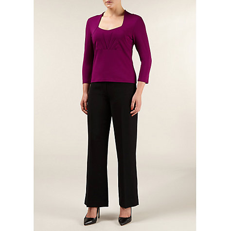 Buy Precis Petite Faux Shrug Top, Bordeaux Online at johnlewis.com