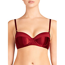Buy Stella McCartney Cherie Sneezing Balconette Bra, Orange Online at johnlewis.com