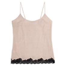 Buy Stella McCartney Ellie Leaping Printed Camisole, Nude Online at johnlewis.com