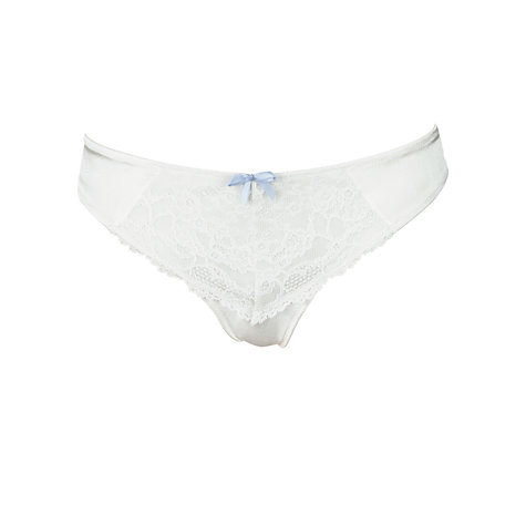 Buy COLLECTION by John Lewis Lana Lace Thong, Ivory Online at johnlewis.com