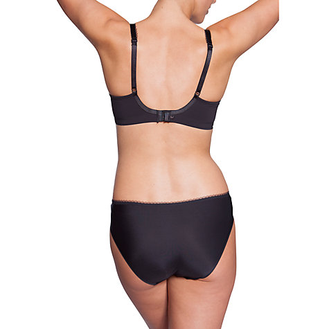 Buy Chantelle Galuchat Moulded Bra, Black Online at johnlewis.com