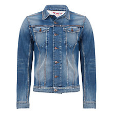 Buy Diesel Jinka Denim Jacket, Denim Blue Online at johnlewis.com