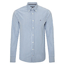 Buy Tommy Hilfiger Keith Striped Shirt, Dark Denim/ Star Sapphire Online at johnlewis.com