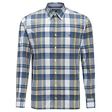 Buy Tommy Hilfiger Finn Check Shirt, Dark Denim/ Iris Leaf Online at johnlewis.com