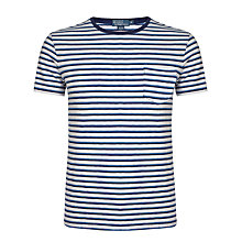 Buy Polo Ralph Lauren Striped Pocket T-Shirt Online at johnlewis.com