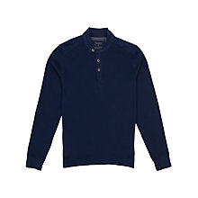 Buy Ted Baker Jimm Long Sleeve Jersey Polo Shirt Online at johnlewis.com