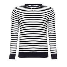 Buy Polo Ralph Lauren Striped Sweatshirt Online at johnlewis.com