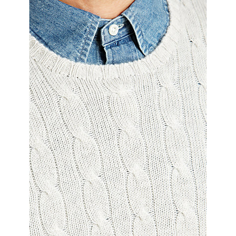 Buy Polo Ralph Lauren Cashmere Cable Knit Jumper Online at johnlewis.com