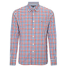 Buy Tommy Hilfiger Bobby Check Shirt, Formula One/ Star Sapphire Online at johnlewis.com