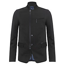 Buy Diesel J-Linette Zip Front Jacket, Black Online at johnlewis.com