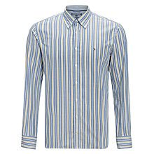 Buy Tommy Hilfiger Mick Striped Shirt, Horizon Blue/ Multi Online at johnlewis.com