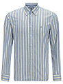 Tommy Hilfiger Mick Striped Shirt, Horizon Blue/ Multi