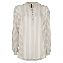 Buy Mango Dolman Blouse, Light Beige Online at johnlewis.com