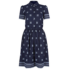 Buy NW3 by Hobbs Irina Dress, French Navy Multi Online at johnlewis.com