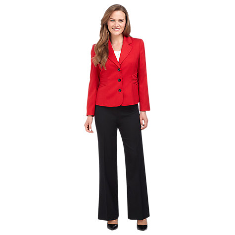 Buy Precis Petite Pintuck Jacket, Red Online at johnlewis.com