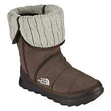 Buy The North Face Women's Amore Knitted Boots, Brown Online at johnlewis.com