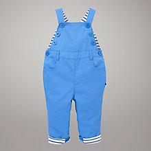 Buy John Lewis Baby Sailor Dungaree, Blue Online at johnlewis.com