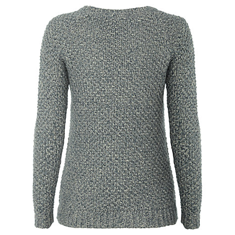 Buy White Stuff Element Jumper, Steel Online at johnlewis.com