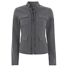 Buy Mint Velvet Zip Jacket Online at johnlewis.com