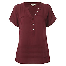 Buy White Stuff Painswick Shirt, Cherry Online at johnlewis.com