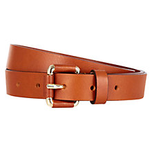 Buy Hobbs Jenny Belt, Tan Online at johnlewis.com